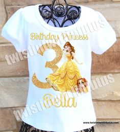 Beauty and the Beast Family Birthday Shirts Disney Birthday Shirt, Family Birthday Shirts, Family Birthdays, Girl Birthday, Birthday Ideas, Happy Birthday, Beauty And The Beast Party, Belle Beauty And The Beast, Disney With A Toddler