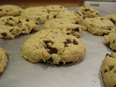 Vegan Wheat-free Chocolate Chip Cookies