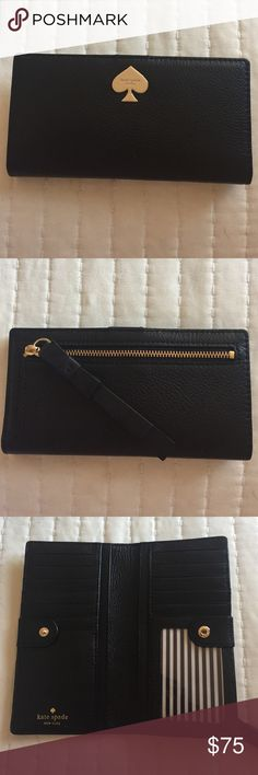 Kate Spade Wallet SO cute!  I received two, as gifts and only need one. kate spade Other