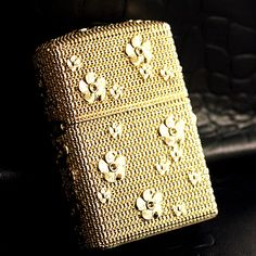 Japanese Plated Golden Plum Grain Jacket Zippo Lighter