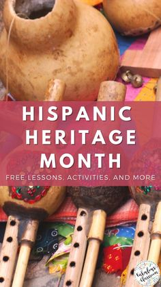 Do you need to teach your students about National Hispanic Heritage Month? Here are 10 FREE collections of Hispanic Heritage Month activities for kids including lessons, crafts, books, and more. Visit now to get yours and have fun celebrating this month!