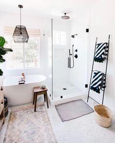 Bathroom decor, Bathroom decoration, Bathroom DIY and Crafts, Bathroom Interior design Bad Inspiration, Bathroom Inspiration, Home Design, Design Ideas, Design Trends, Bath Design, Design Studio, Design Concepts, Design Design