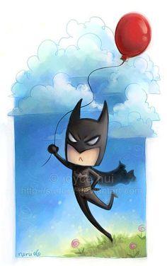 Batman takes a stroll by Sudoru