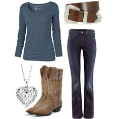 """Just Jeans"" by elizabethnae on Polyvore"
