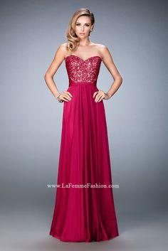 La Femme 21820 | La Femme Fashion 2016 - La Femme Prom Dresses - La Femme Short Dresses