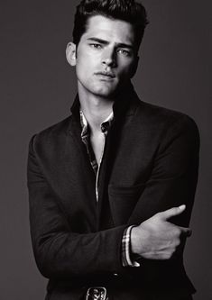 Sean O'Pry for Armani Jeans Fall Winter 2012.13