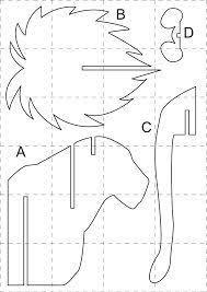 Image result for descarga plantillas de cabezas de animales