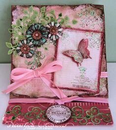 Heartfelt Creations | Butterfly And Juliet Easel Card
