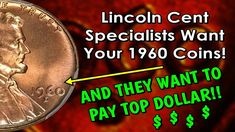 Multiple Varieties Make 1960 Lincoln Pennies The Coin Collectors Pay BIG Money For! Valuable Pennies, Rare Pennies, Valuable Coins, Old Coins Worth Money, Old Money, Penny Value Chart, Penny Values, Old Coins Value, American Coins