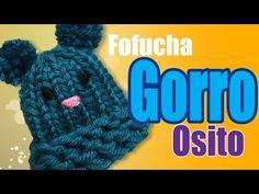 Gorro osito tejido para fofucha - Fofucha bear knitted hat - YouTube