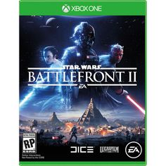 Buy a used Star Wars Battlefront II 2 Xbox One Game. ✅Compare prices by UK Leading retailers that sells ⭐Used Star Wars Battlefront II 2 Xbox One Game for cheap prices. Jeux Xbox One, Xbox One Games, Ps4 Games, Games Consoles, Playstation Games, Games 2017, Red Dead Redemption, Darth Maul, Star Wars Film
