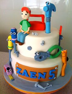Liez Cakes And Etc: Handy Manny & Tools