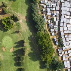 Aerial Photos Capture Just How Differently The Rich And Poor Live