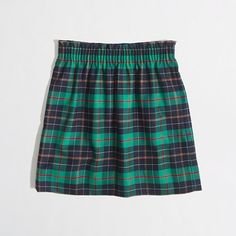 Factory pleated mini in tartan - Wouldn't this be perfect for Christmas??