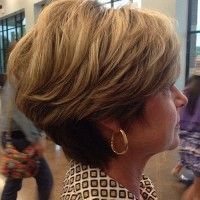 short hairstyles over 50, hairstyles over 60 - short wavy hairstyle for women over 50 | trendy-hairstyles-for-women.com