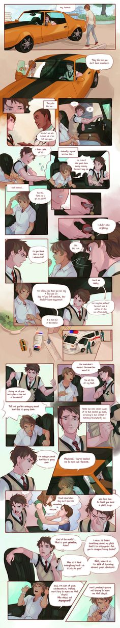 The Raven Boys - Chapter 28, Part I by Azeher.deviantart.com on @DeviantArt