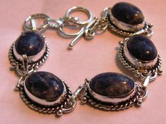 'Sodalite Bracelet' is going up for auction at  2pm Mon, Jun 25 with a starting bid of $10.