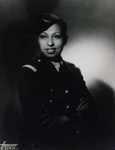 Josephine Baker- an absolutely captivating dancer, singer, AND World War II spy.  She hid information for the Allied Forces in her sheet music as she toured occupied France.  What an amazing woman!