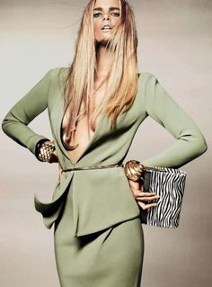 Marloes Horst for Harper's Bazaar UK July 2012