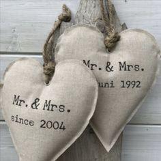 Hart bruiloft/ jubileum