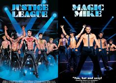 Justiça-League-Comic-Magic-Mike-Movie-Cover