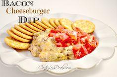 Bacon Cheeseburger Dip recipe | CentsLess Deals