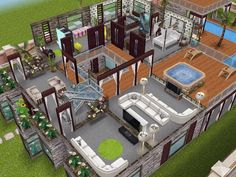 House 71 level 2 #sims #simsfreeplay #simshousedesign