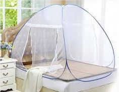(portable folding mosquito net frame)