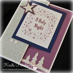 Krista's Crafty Corner: Christmas Card Blog Hop