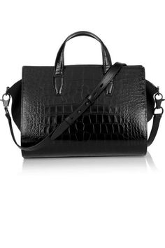 A statement tote in both shape and texture (Alexander Wang)