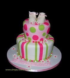 baby shower girl cakes - Google Search