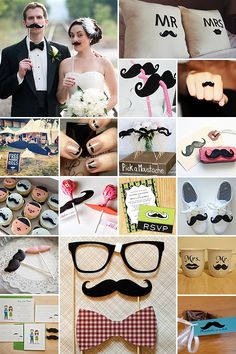 Moustache Mayhem #matrimonio #baffi #blog #festa #party #wedding #sposo #sposi #sposa #ricevimento