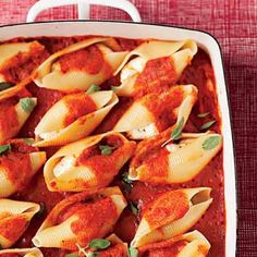 Dairy-Free Stuffed Shells - You'd never know they were dairy free by how these taste.