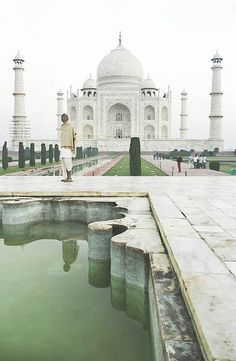 Taj Mahal, a best tourist attractions in the world.