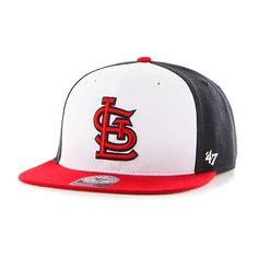 391bd67797d St. Louis Cardinals Amble Captain Red 47 Brand Adjustable Hat