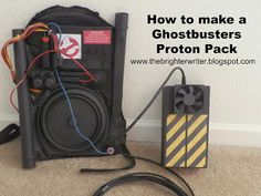 How to make a Ghostbusters Proton Pack / Step by Step Proton Pack Tutorial from…