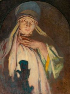 the enchantress - Alfons Mucha