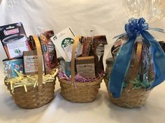THANK YOU GIFT BASKET- just $25 and includes $15 gift card, handmade soap, candle, sweets- perfect way to say thanks. Go to www.giftsbylulu.com to see the details on each item or to purchase.