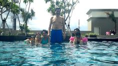 Swimming time...