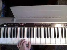 klávesy bez not - jak na to - videoškola - YouTube
