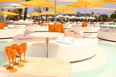 Ocean beach club ... one of the best pool parties in Ibiza