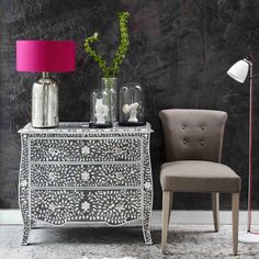 Mother Of Pearl Inlay Furniture | ... Touch Of Luxe: A Touch Of