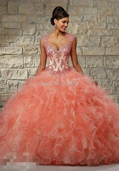 peach quinceanera dresses 2016 » MyDresses Reviews 2017