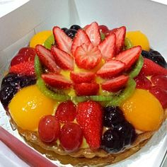 It is great‼︎*\(^o^)/* - 252件のもぐもぐ - fruit flan by Yvonne C.