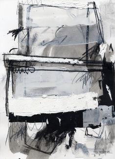Mixed Media Art, Artist Study with thanks to Fitz Herrera , for CAPI ::: Create Art Portfolio Ideas at www.milliande.com Art Resources for Art School Portfolio Work, Abstract, Painting, Collage