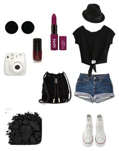 """#1"" by lovepeacehopefaith ❤ liked on Polyvore featuring Converse, Urban Decay, AeraVida and Vince Camuto"
