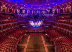Interior architectural photography for Audience Systems who supplied and installed the seating for the stalls