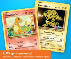 Free Pokemon Figure, Card, Album & More at Toys R Us - Today