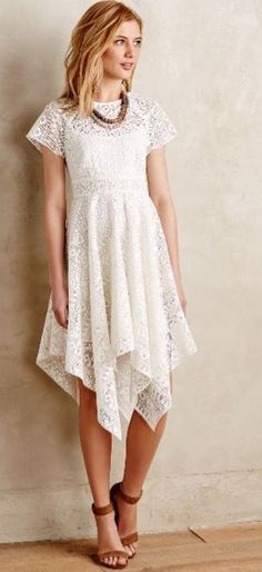 Anthropologie Prima Lace Dress