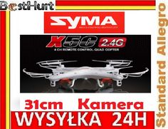 Dron Quadrocopter Syma X5C KAMERA 2MP 2.4GHz -50m